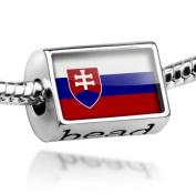 """Beads """"Slovakia Flag"""" - Pandora Charm & Bracelet Compatible"""
