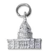 Sterling Silver Capital Charm
