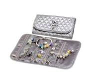 European Bead Charm Travel Jewellery Pouch By Novobeads. Fits Pandora, Biagi, Troll and All Other Bead Lines