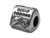 Zable(tm) Sterling Silver Scrapbooking Bead / Charm