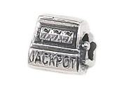 "Zable(tm) Sterling Silver Slot Machine ""Jackpot"" Bead / Charm"