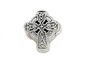 Zable(tm) Sterling Silver Celtic Braid Cross Bead / Charm