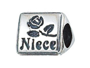 Zable(tm) Sterling Silver Niece Bead / Charm