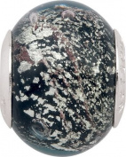 Persona Italian Glass No.5 Charm fits Pandora, Troll & Chamilia European Charm Bracelets