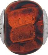 Persona Italian Glass Siren Charm fits Pandora, Troll & Chamilia European Charm Bracelets