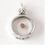Sterling Silver Mustard Seed Charrm