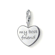 Thomas Sabo MY BEST FRIEND Charm, Sterling Silver