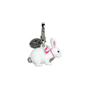 Juicy Couture Jewellery Snow Bunny Charm Silver New 2012