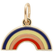 Rembrandt Charms Rainbow Charm, 10K Yellow Gold
