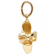 Rembrandt Charms Tap Shoe Charm, 10K Yellow Gold
