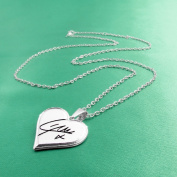 One Direction 'Liam Signature' Heart Necklace