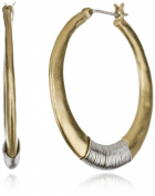 Kenneth Cole New York Gold-Tone Hoop Earrings