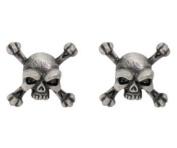 Skull Crossbones Studs - Collectible Dangle Jewellery Accessory Jewel
