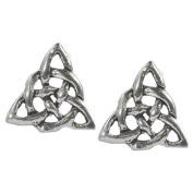 Stud Earrings Sterling Silver - Celtic Knot