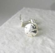 Sterling Silver Sand Dollar Post Earrings