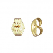 14k Gold Replacement Earring Backs Pair