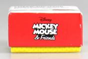 Sterling Silver Disney Cz Mickey Mouse Stud Earrings