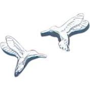 Sterling Silver Hummingbird Stud Earrings Jewellery