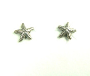 Starfish Tiny Sterling Silver Post Earrings Ear Studs Ocean Nautical Marine Life Jewellery