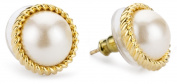 "Kate Spade New York ""Seaport"" Simulated Pearl Stud Earrings"