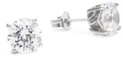 "Myia Passiello ""Essentials. Zirconia 2 Carat Round Stud Earrings"