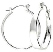 Nine West Medium Hoop Earrings