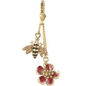 Jay Strongwater Bee & Flower Dangle Charm