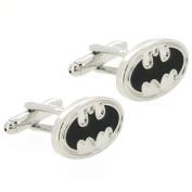 Black and Silver Batman Cufflinks