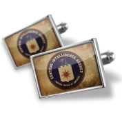 Neonblond Cufflinks CIA Central Intelligance Agency - cuff links for man
