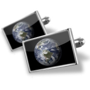 Neonblond Cufflinks Planet Earth - cuff links for man