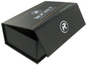 Rochet Roma Solid Stainless Steel Black Cup Cuff Links