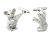 Koala Cufflinks by Cuff-Daddy