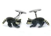 Raccoon Cufflinks by Cuff-Daddy