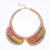 Candy Bib Necklace