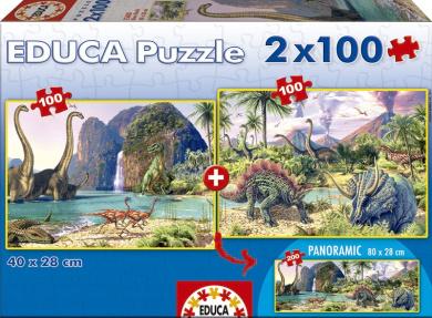 2 X 100 Dino World