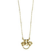 Kitty Cat Gold Eyeglass Holder Necklace