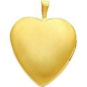 14K Gold Filled Heart Locket Pendant Jewellery 21mm