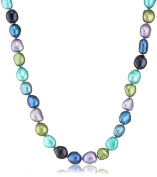 """Honora """"Peacock"""" Freshwater Cultured Pearl Necklace, 45.7cm"""