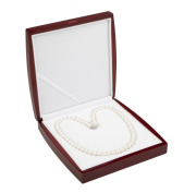 AAA 7.5-8mm White Freshwater Cultured Pearl Necklace 20in Regal