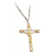 Black Hills Gold Necklace - Crucifix