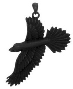 Raven Pendant - Collectible Medallion Necklace Accessory Jewellery