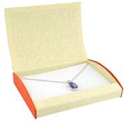 Beige and Orange Necklace Box