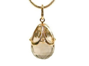 Faberge Style gold eggs