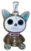 Furry Bones Skull Mocha Cat Mao Mao Pendant Jewellery Accessory