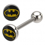 DC Comics Batman 316L Surgical Steel Barbell 14g