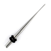One Stainless Steel Taper: 12g
