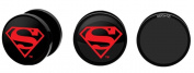 DC Comics Superman Acrylic Screw Fit Plug 0g