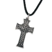 Celtic Cross Pendant Collectible Medallion Necklace Accessory Jewellery