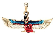Maat Pendant - Collectible Medallion Necklace Accessory Jewellery