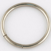 One Stainless Steel Segment Ring